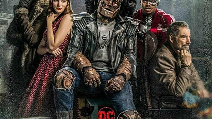 Movie jacket of Doom Patrol