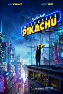 Detective Pikachu Movie Cover