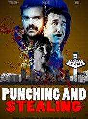 Punching and Stealing Movie Jacket